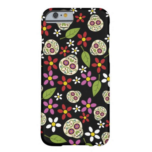 Floral Sugar Skulls iPhone 6 Case Phone Case