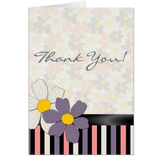 Floral Summer Daze Thank You Card