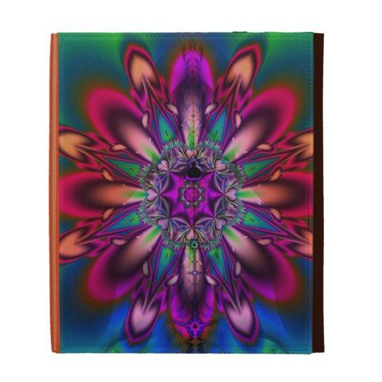 Floral Summer Fantasy Artistic Caseable iPad Folio iPad Folio Cover