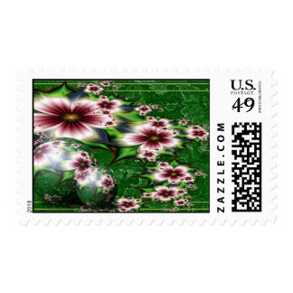 Floral Summer Sphere Stamp