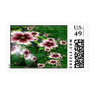 Floral Summer Sphere Stamps