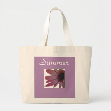 Beach Themed Floral Summer Tote For Women