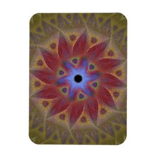 Floral Sundial Flexi Refrigerator Magnet