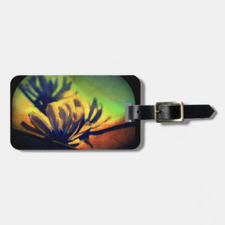 Floral Sunset View Luggage Tag