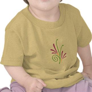 Floral Swash Tee Shirts