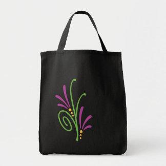 Floral Swash Tote Bag