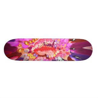 Floral SWEET Heart Skateboard Deck