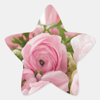 Floral- Sweet Innocence Star Sticker