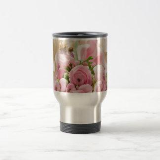 Floral- Sweet Innocence Travel Mug