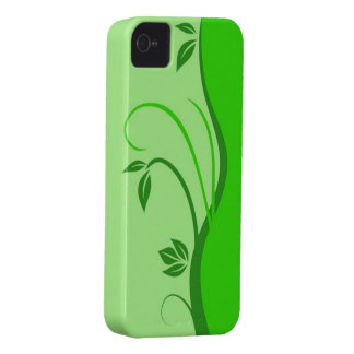 Floral Swirl iPhone 4/4S Case-Mate Barely There Case-Mate iPhone 4 Case