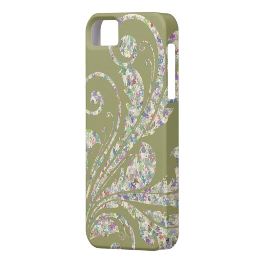 Floral Swirl ~ Multi-Colored iPhone SE/5/5s Case