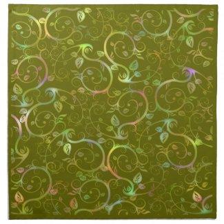 Floral Swirl mojo_napkin