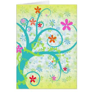 Floral Swirl Pizazz - Day Card