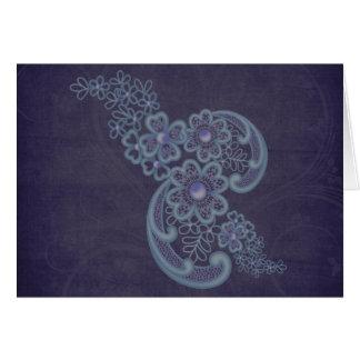 Floral Swirls Card