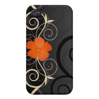 Floral Swirls i iPhone 4/4S Case