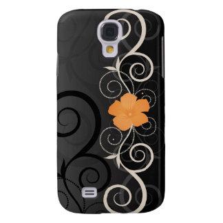 Floral Swirls  Samsung Galaxy S4 Cover