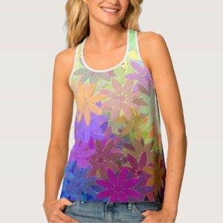 floral tank top