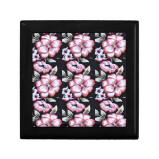 Floral Tapestry Jewelry Box