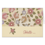 Floral Tapestry Hello Cards