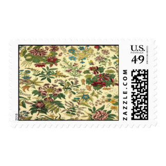 Floral Tapestry Postage Stamps