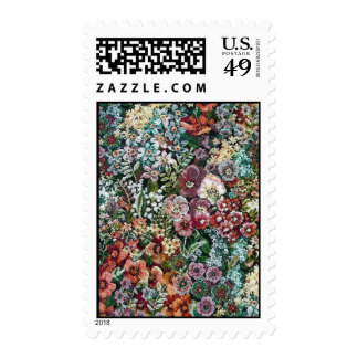 Floral Tapestry (vertical) Stamps