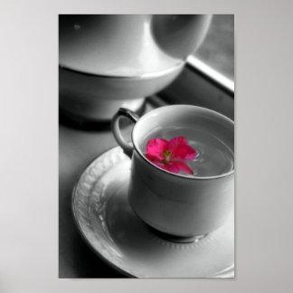 Floral Tea Poster