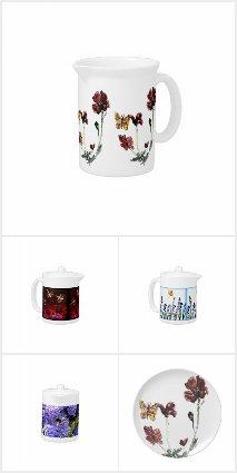 Floral Tea Sets