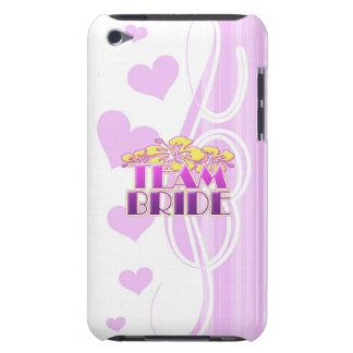 Floral Team Bride Bridesmaids wedding classy fun iPod Touch Case