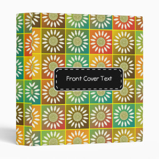 Floral tessellation binder