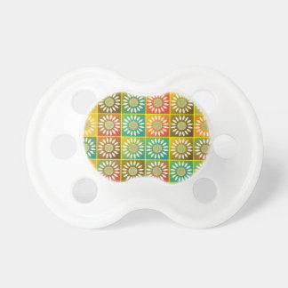 Floral tessellation pacifier