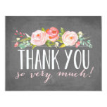 Floral | Thank You Card