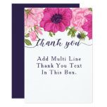 Floral Thank You Card // Wedding, Bridal Shower