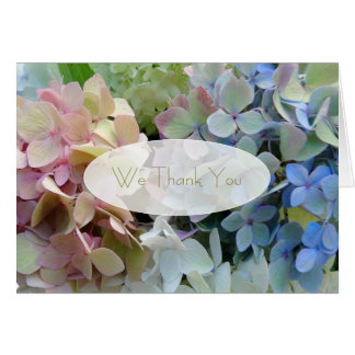 Floral Thank You Notes Custom Message
