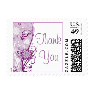 Floral Thank You Stamp (Small)
