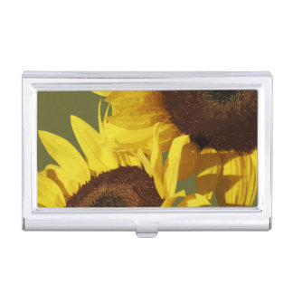 Floral Theme Business Card Cases