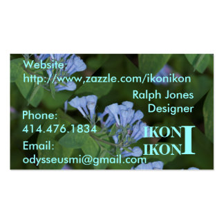 Floral ThemeBusiness Card Business Card