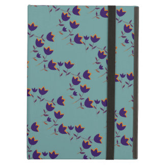 floral-themed purple tulips iPad air cover