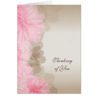 Floral Thinking of You Cards