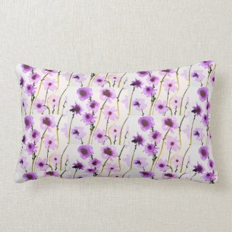 Floral throwpillow