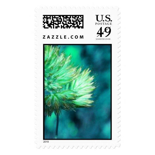floral timbre postal