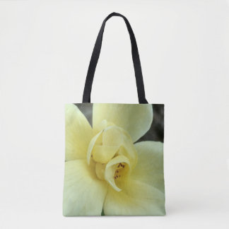 Floral Tote in Yellow
