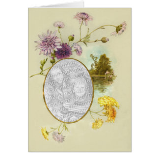 Floral Touch 4 Greeting Card