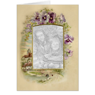 Floral Touch 9 Greeting Card