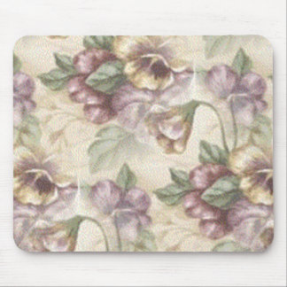 floral touch mouse pad