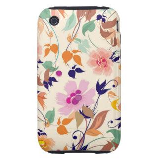 Floral Tough iPhone 3 Case