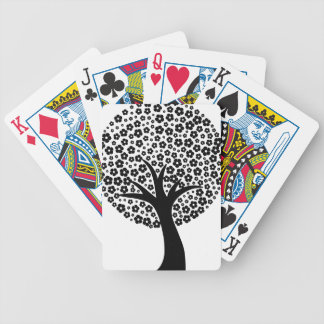 Floral Tree Bicycle Playing Cards