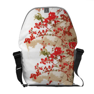 Floral Tree Blossoms Art Messenger Bag