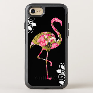 Floral Tropical Flamingo OtterBox Symmetry iPhone 7 Case