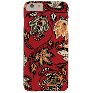 Floral tropical hawaiano del batik del Protea Funda De iPhone 6 Plus Barely There