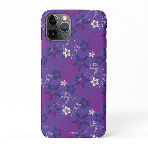 Floral Tuk Tuk & Ongi Pattern iPhone 11 Pro Case